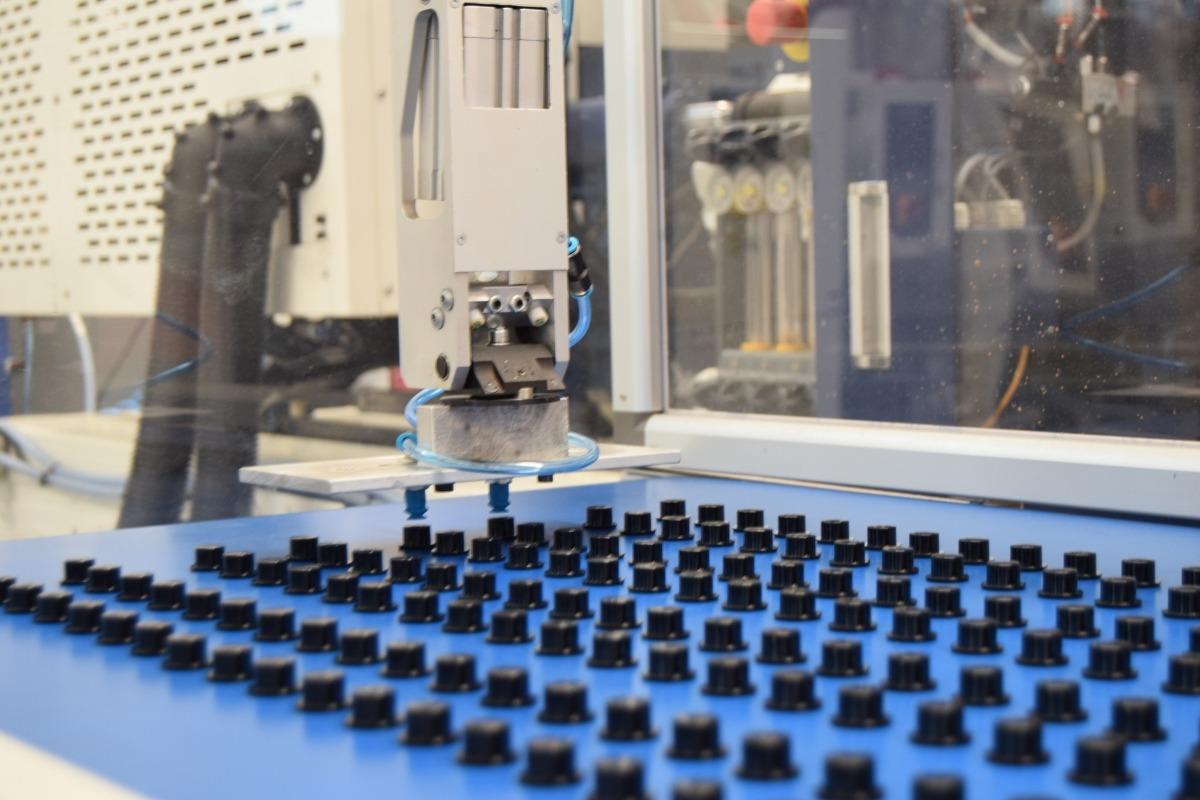 Máquina de injeção